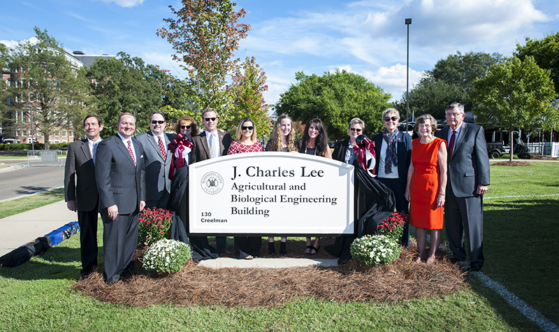 Former MSU President Charles Lee honored at dedication
