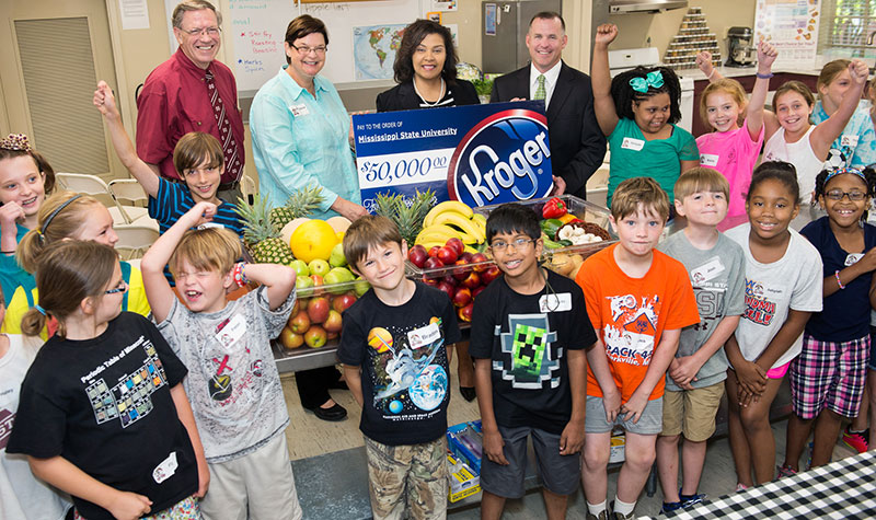 Kroger Co. sponsors MSU food camp with $50,000 gift