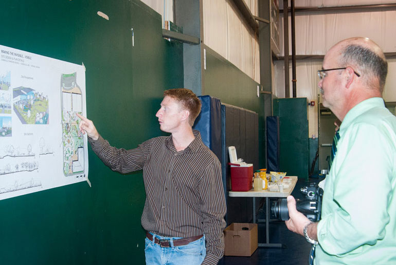 MSU landscape architecture students help school leaders brainstorm ideas for growth