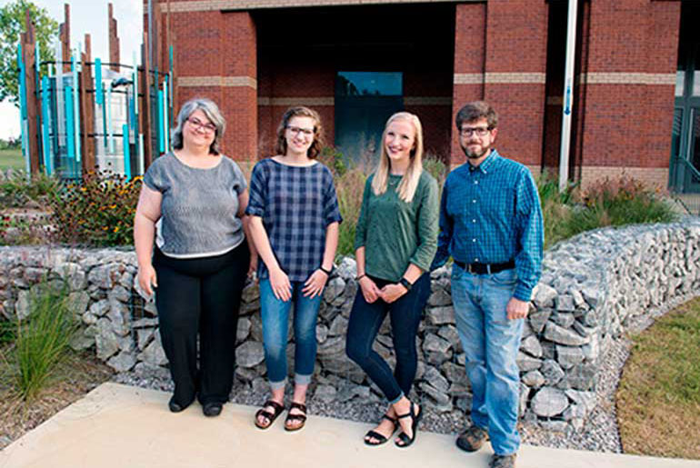 MSU student raingarden collaboration garners national recognition