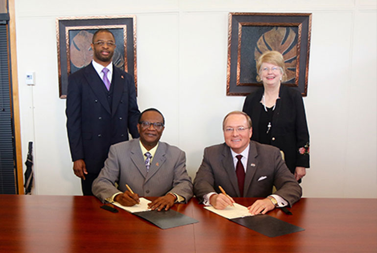 Officials sign memorandum of understanding