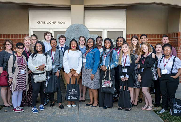 Mississippi World Food Prize students
