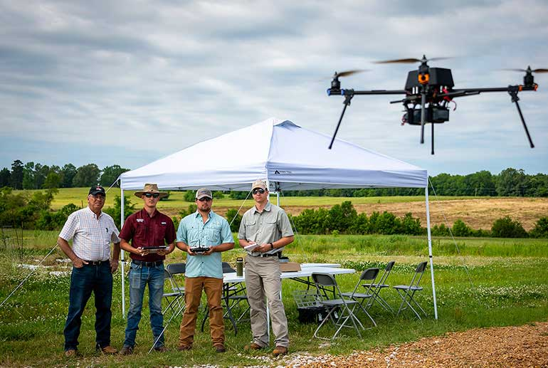 Small Unmanned Aerial Systems courses take flight at MSU