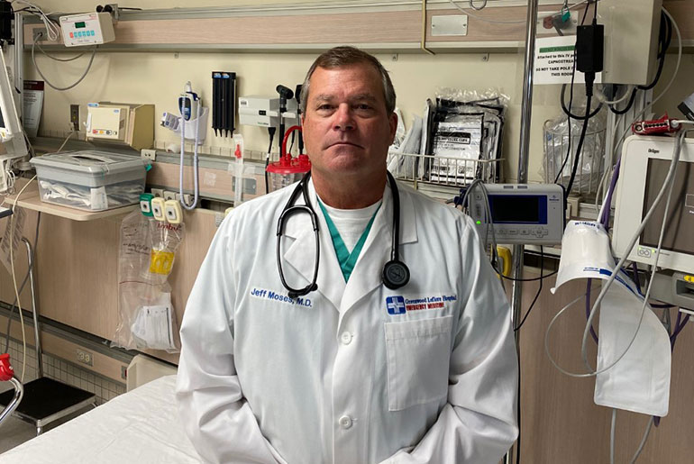 On the Front Lines: Dr. Jeff Moses